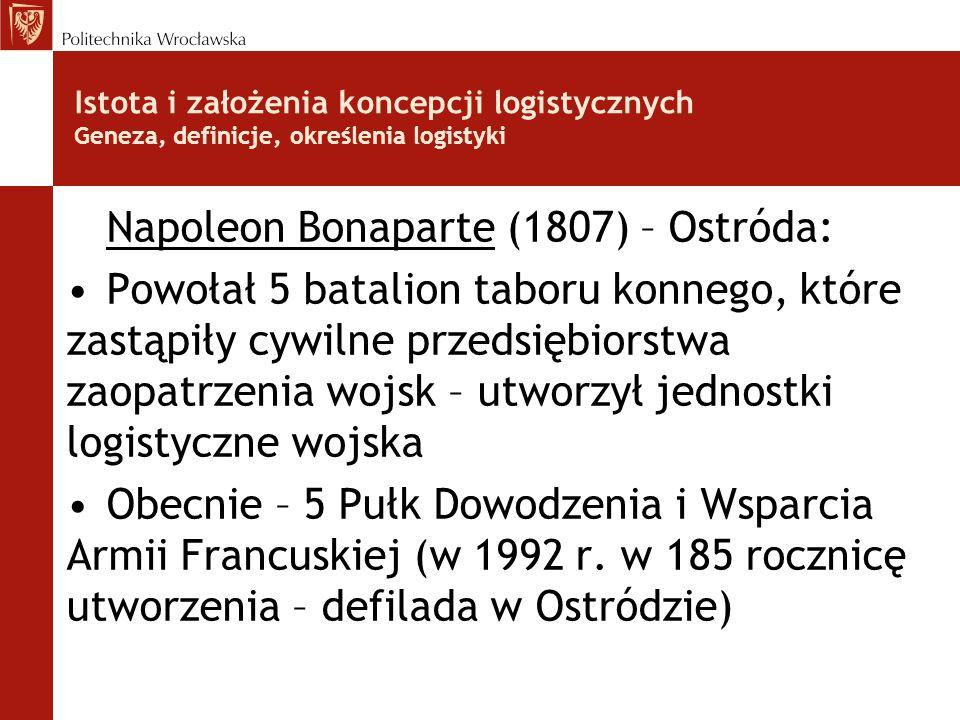 Napoleon Bonaparte (1807) – Ostróda: