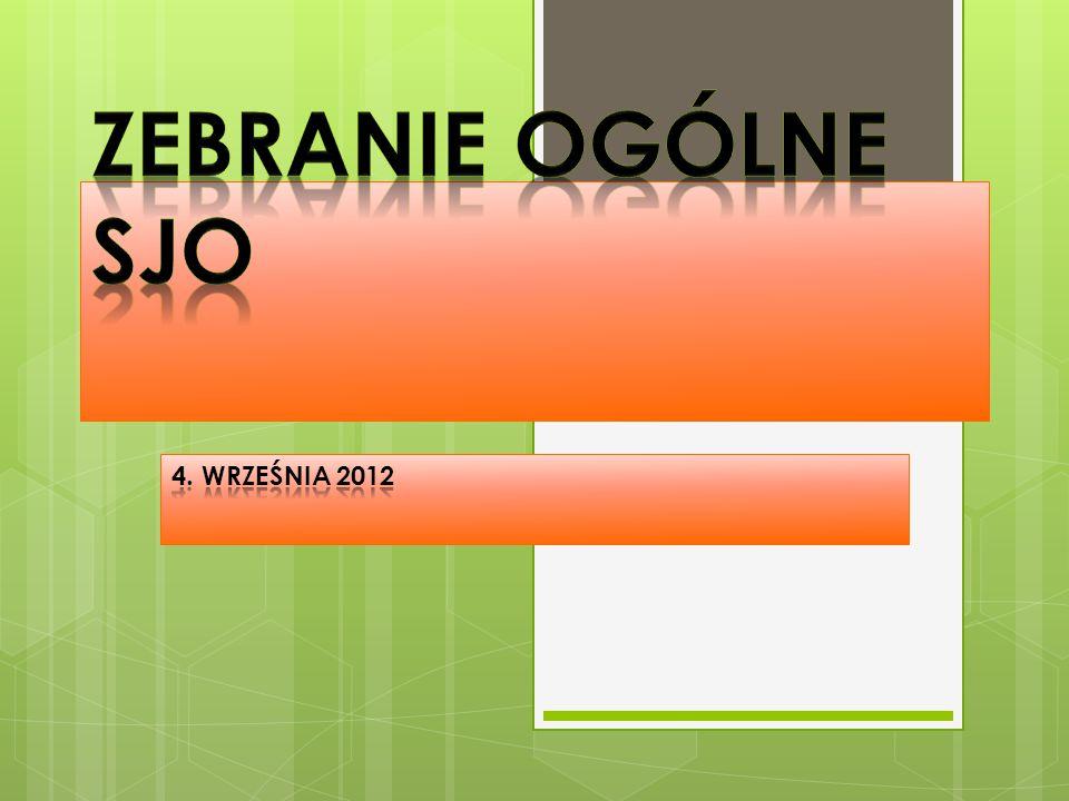 Zebranie ogólne SJO 4. września 2012