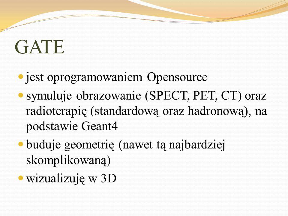 GATE jest oprogramowaniem Opensource