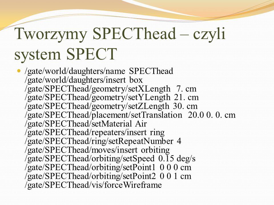 Tworzymy SPECThead – czyli system SPECT