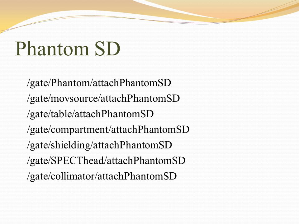 Phantom SD