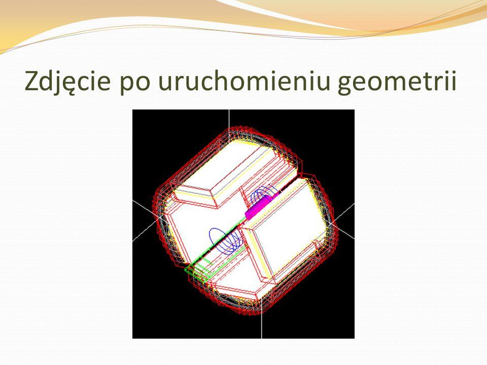 Zdjęcie po uruchomieniu geometrii