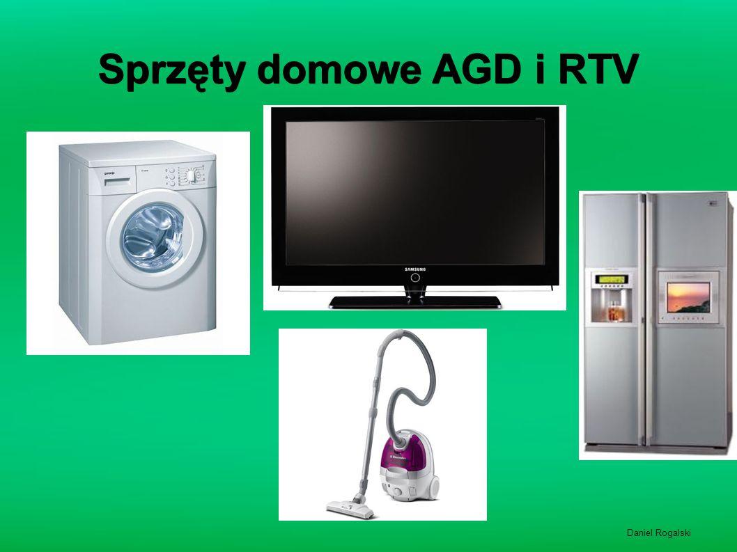 Sprzęty domowe AGD i RTV