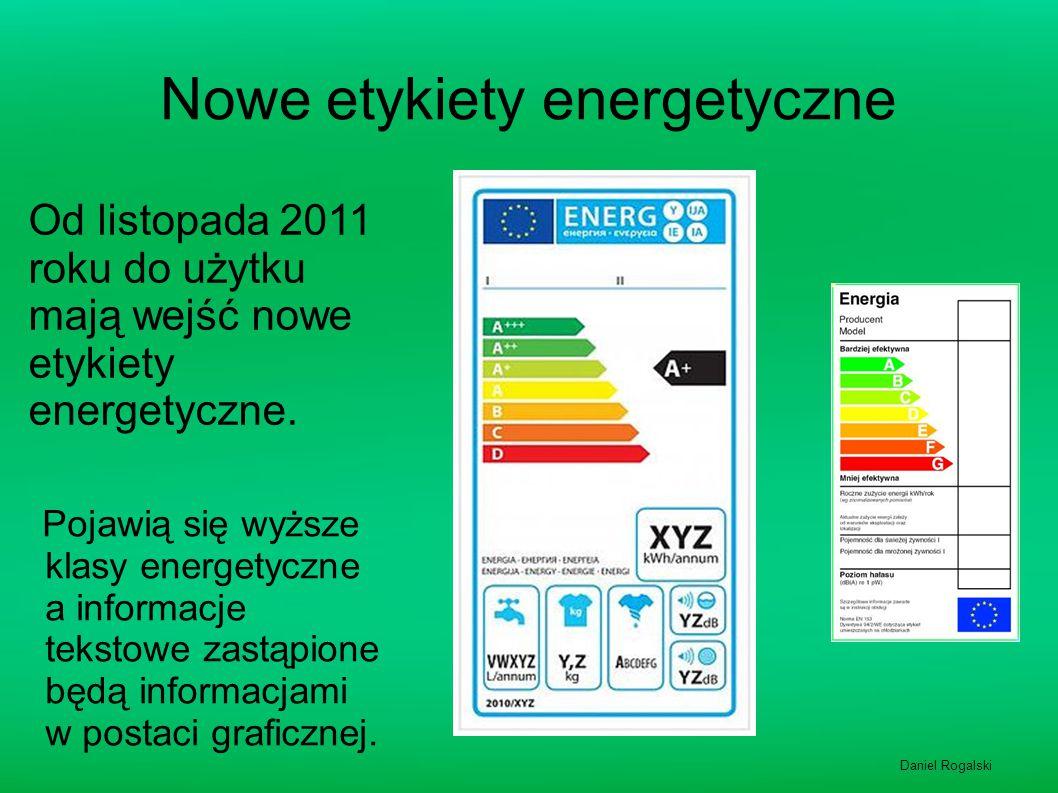 Nowe etykiety energetyczne