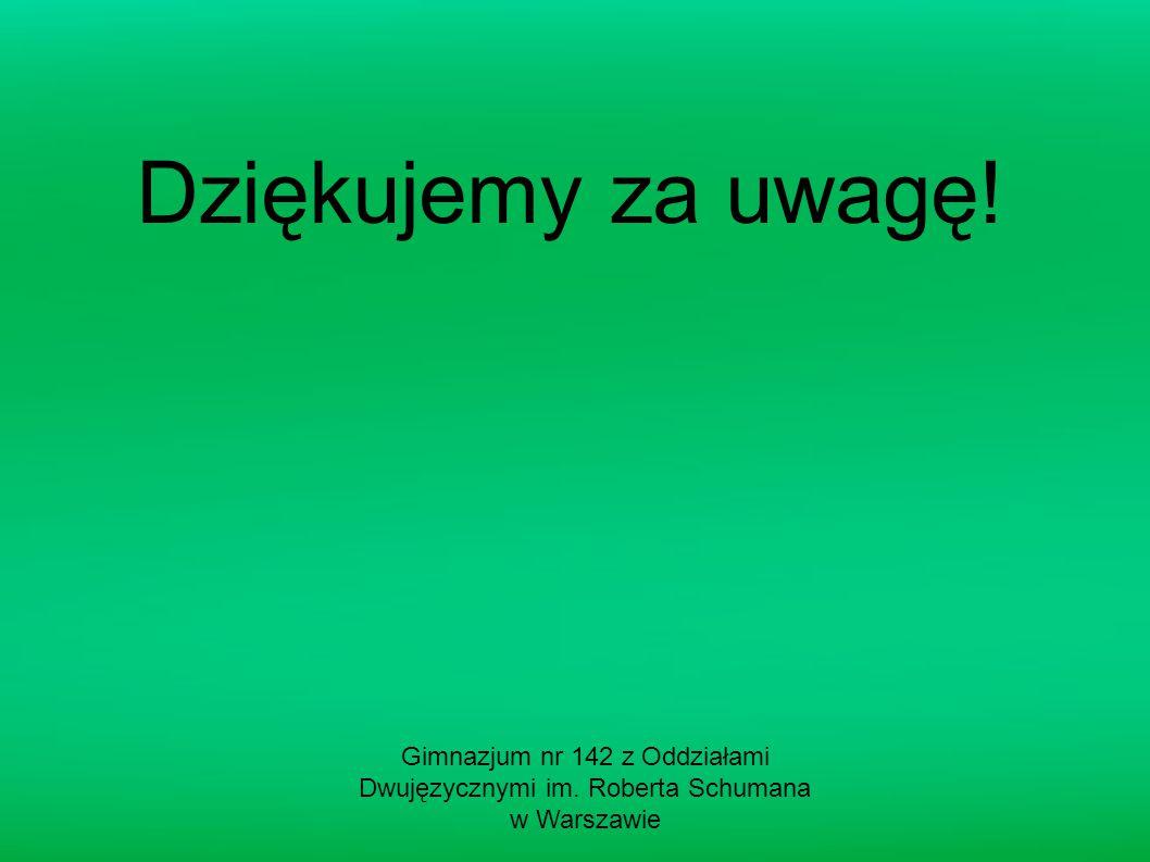 Gimnazjum nr 142 z Oddziałami Dwujęzycznymi im. Roberta Schumana