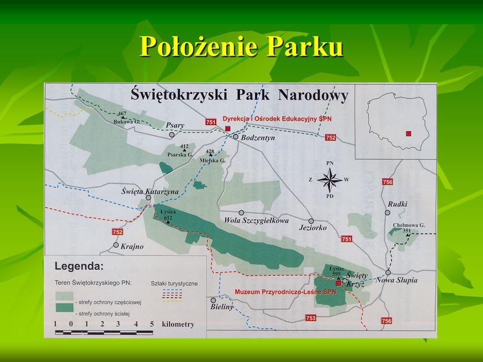 Położenie Parku