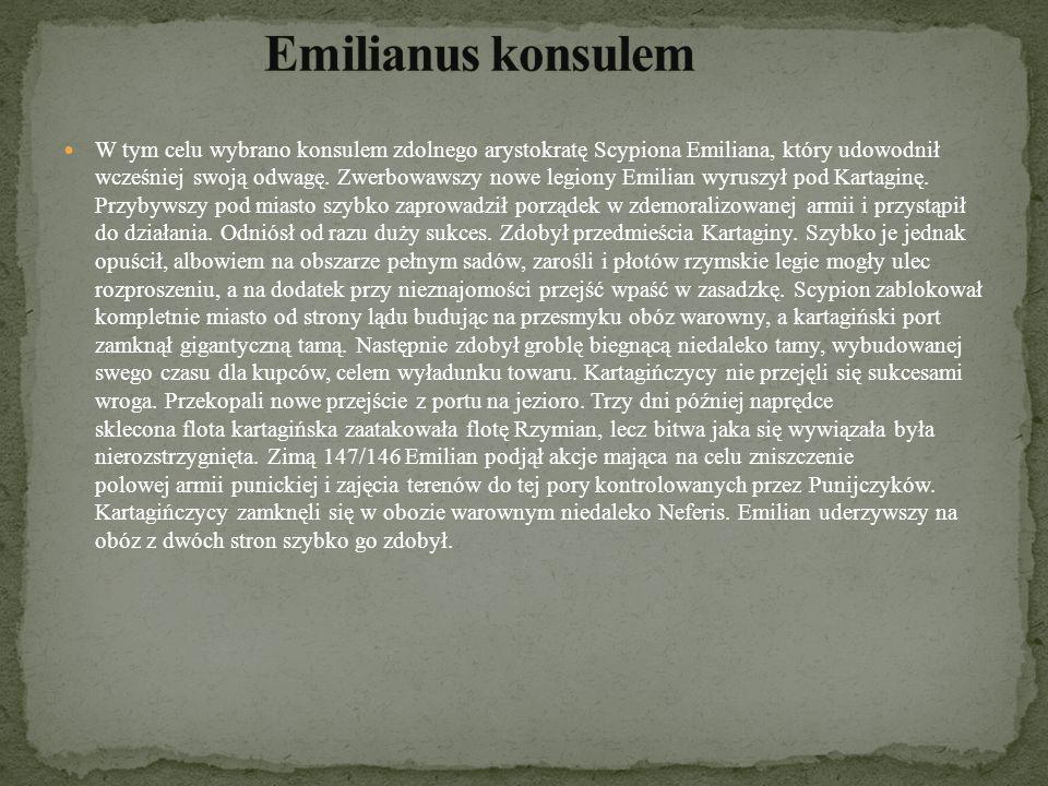 Emilianus konsulem
