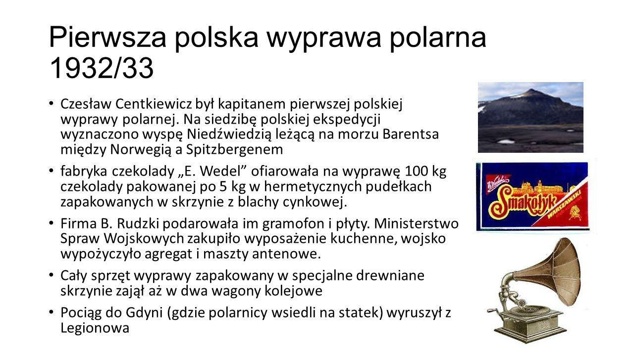 Pierwsza polska wyprawa polarna 1932/33