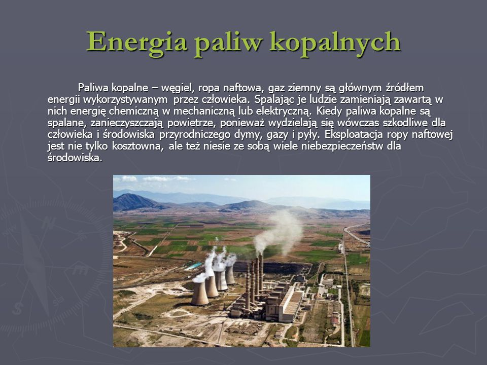 Energia paliw kopalnych