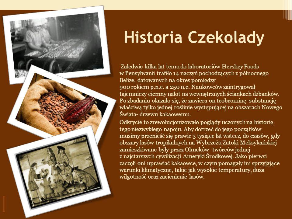 Historia Czekolady