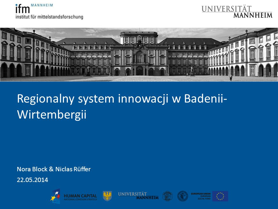 Regionalny system innowacji w Badenii- Wirtembergii