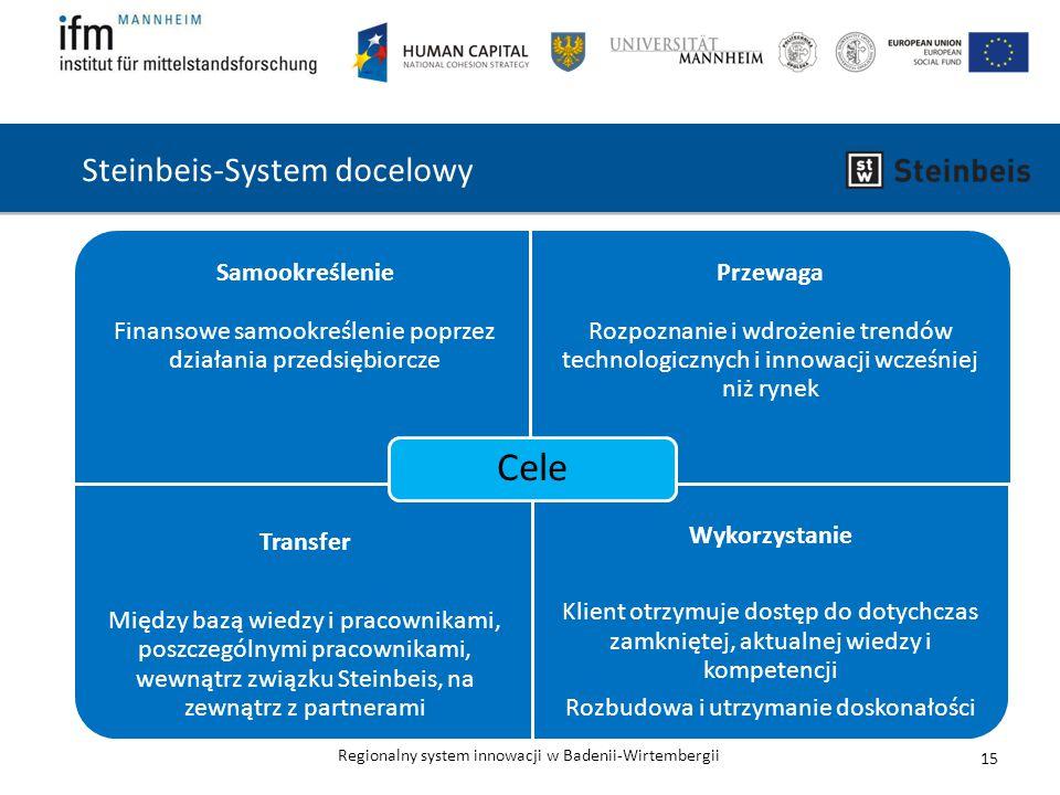 Steinbeis-System docelowy