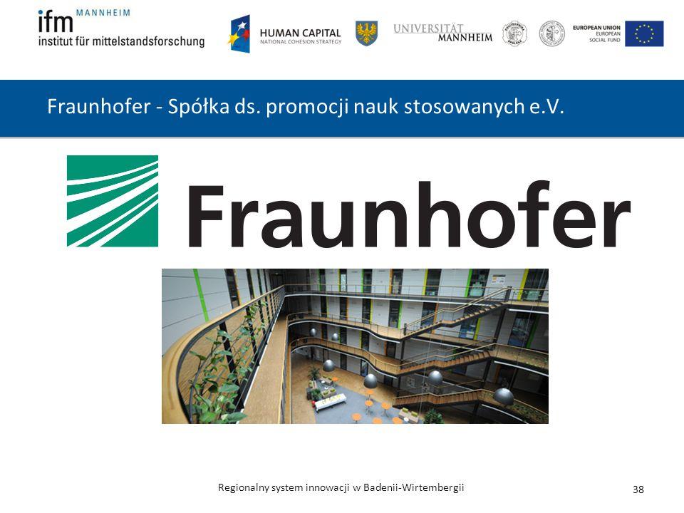 Fraunhofer - Spółka ds. promocji nauk stosowanych e.V.