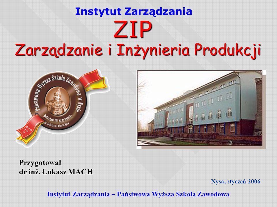 Instytut Zarządzania – Państwowa Wyższa Szkoła Zawodowa
