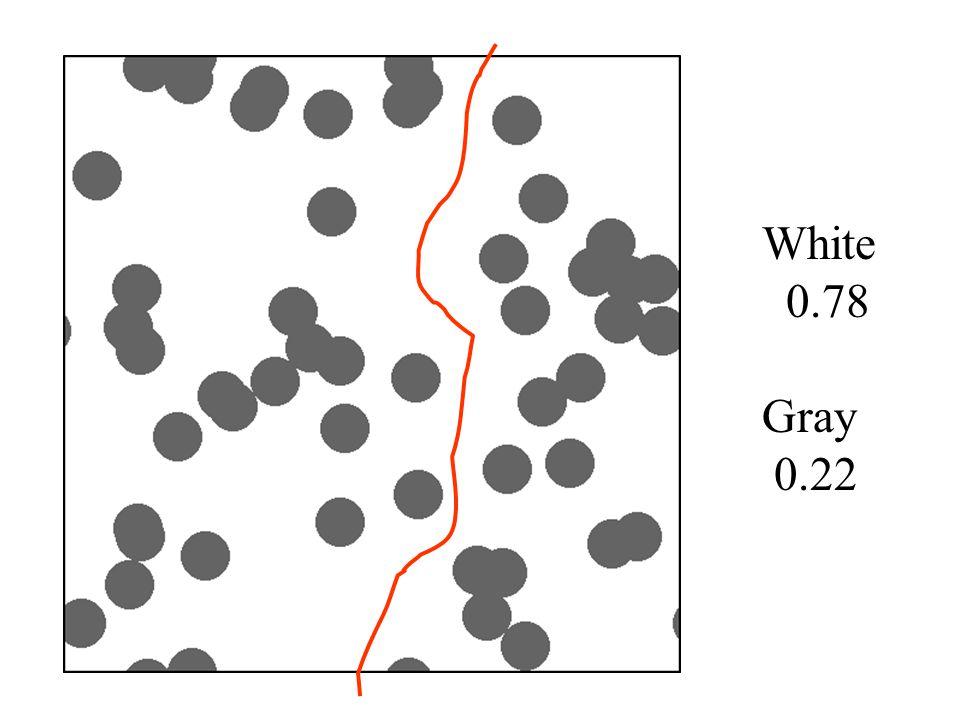 White 0.78 Gray 0.22