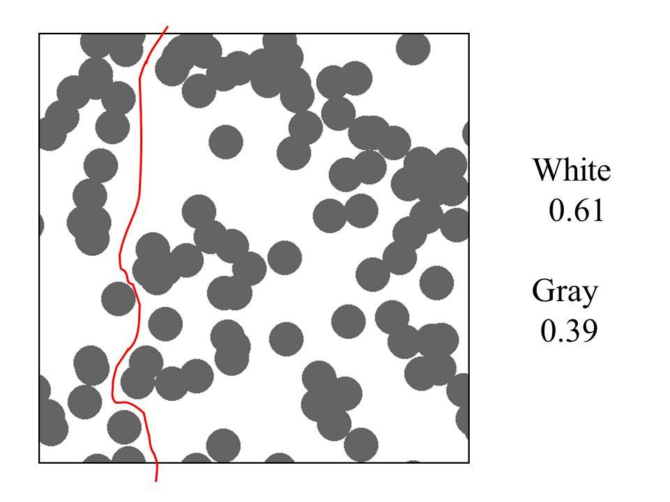 White 0.61 Gray 0.39