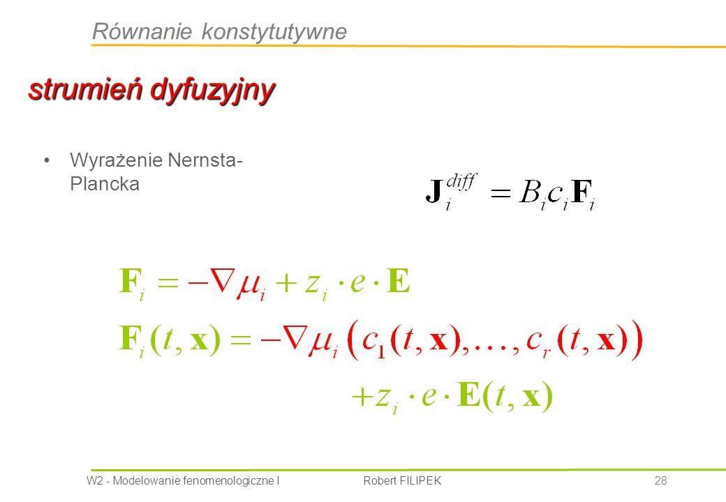 Równanie konstytutywne