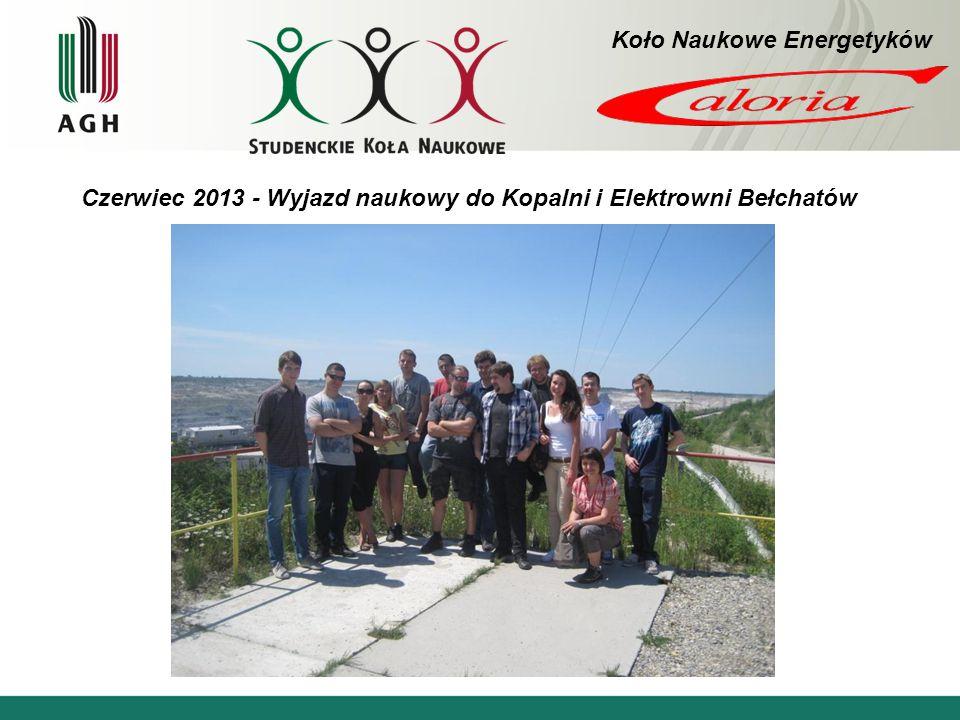 Czerwiec 2013 - Wyjazd naukowy do Kopalni i Elektrowni Bełchatów