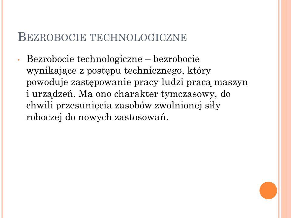 Bezrobocie technologiczne