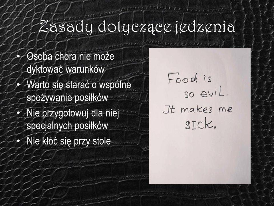 Zasady dotyczące jedzenia