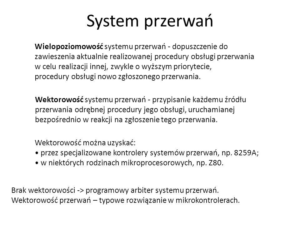 System przerwań