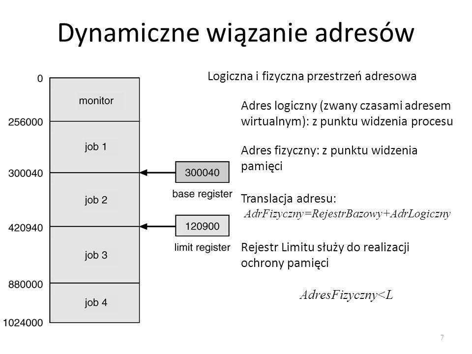 Dynamiczne wiązanie adresów