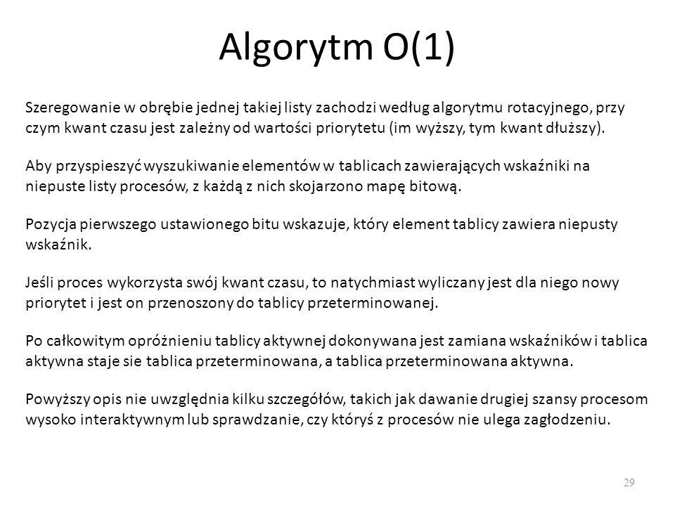 Algorytm O(1)