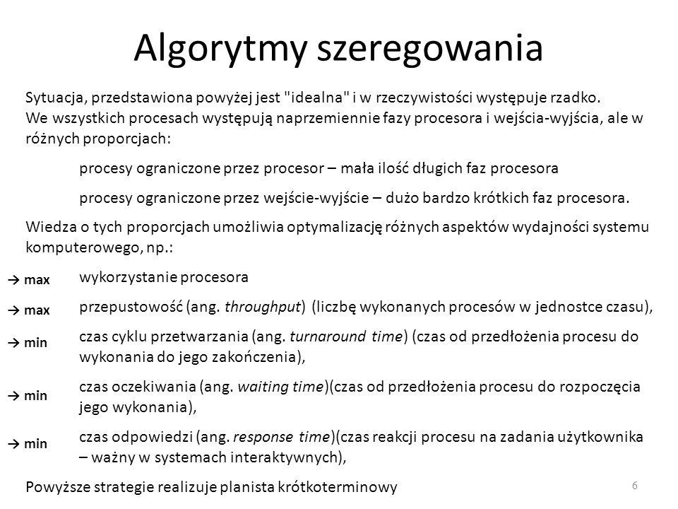 Algorytmy szeregowania