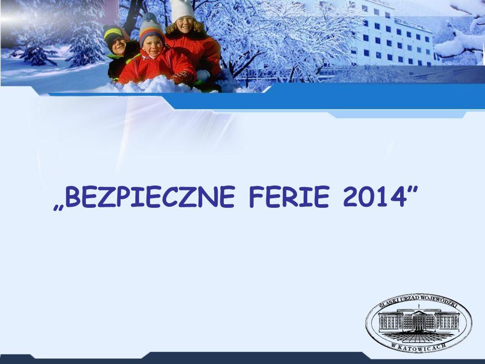 """""""BEZPIECZNE FERIE 2014"""