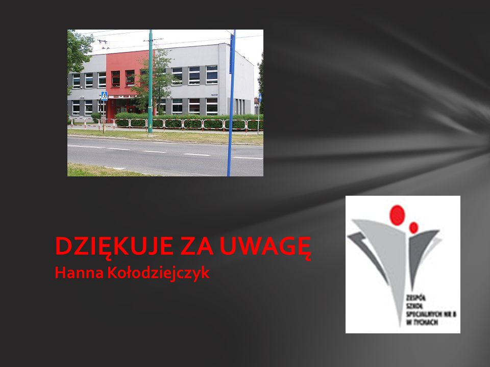 DZIĘKUJE ZA UWAGĘ Hanna Kołodziejczyk