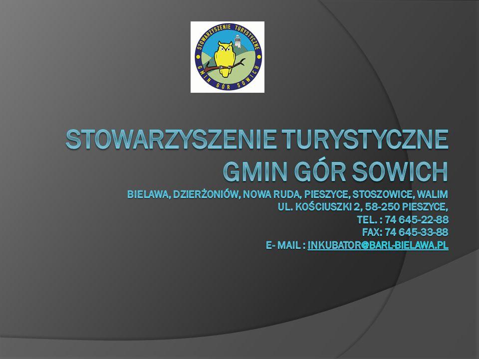 Stowarzyszenie Turystyczne Gmin Gór Sowich Bielawa, Dzierżoniów, Nowa Ruda, Pieszyce, Stoszowice, Walim ul.