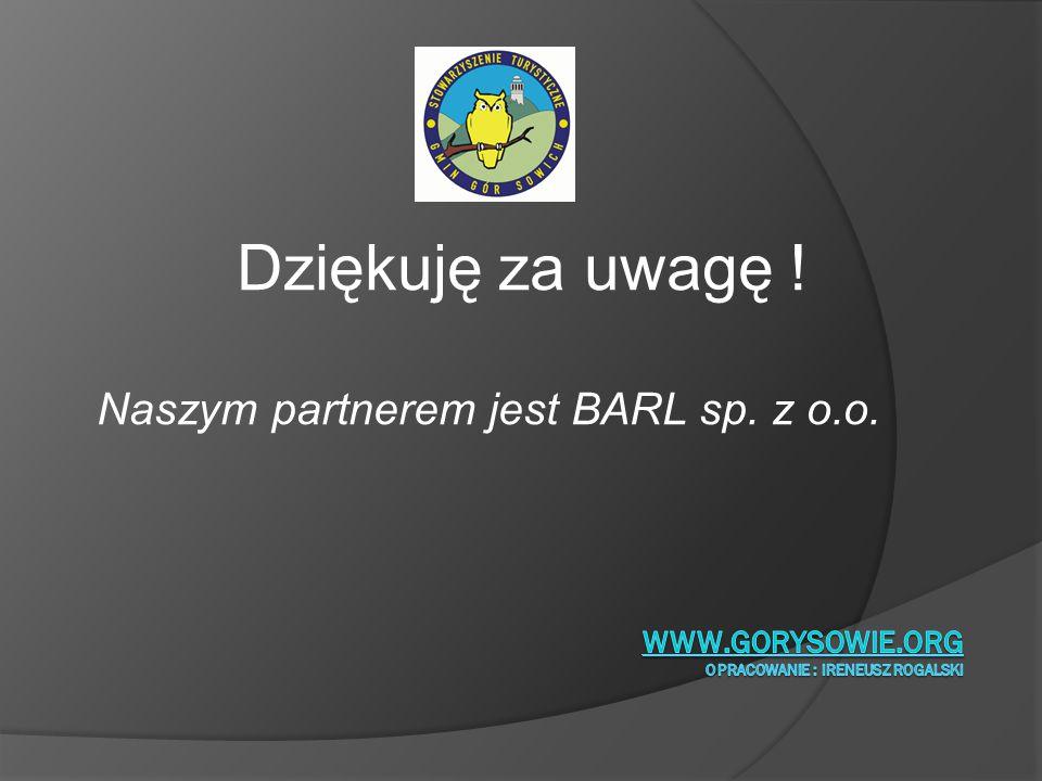 www.gorysowie.org opracowanie : Ireneusz Rogalski