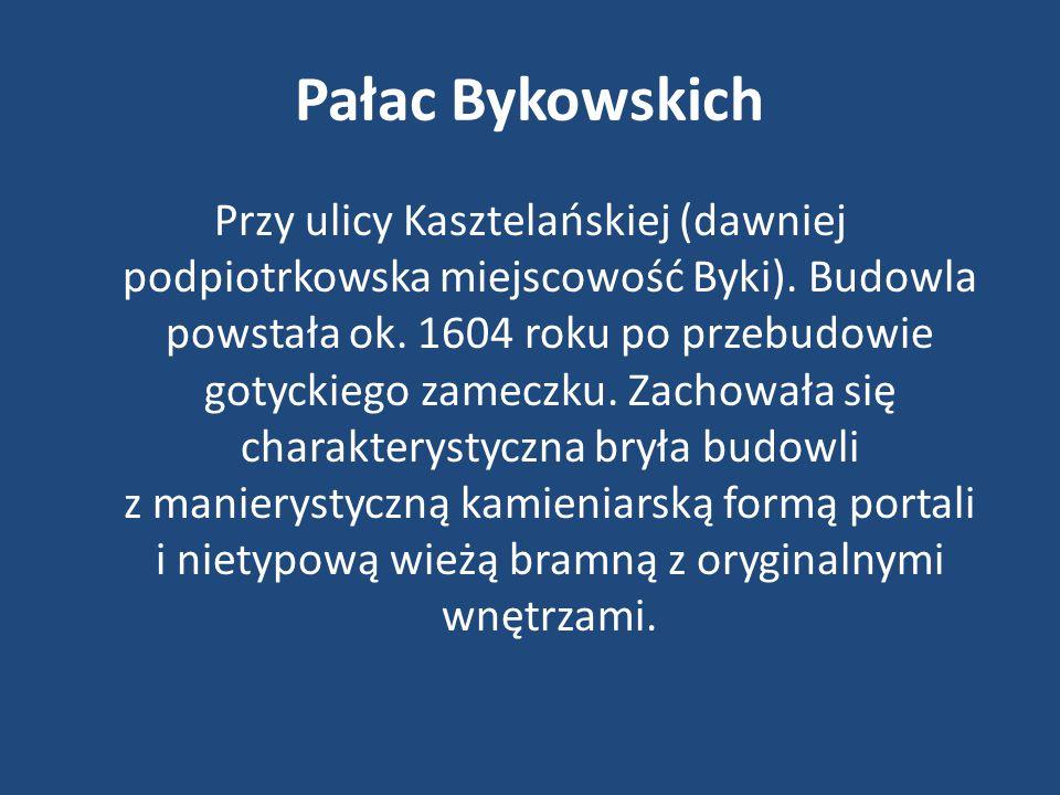 Pałac Bykowskich