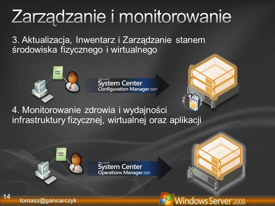 Zarządzanie i monitorowanie