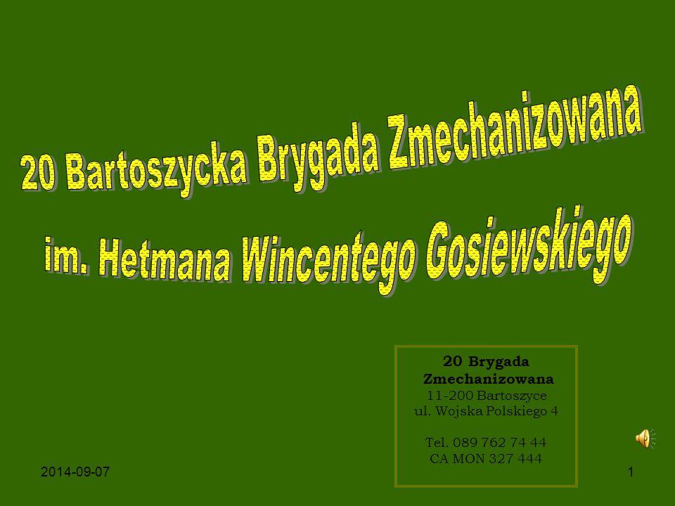 20 Bartoszycka Brygada Zmechanizowana