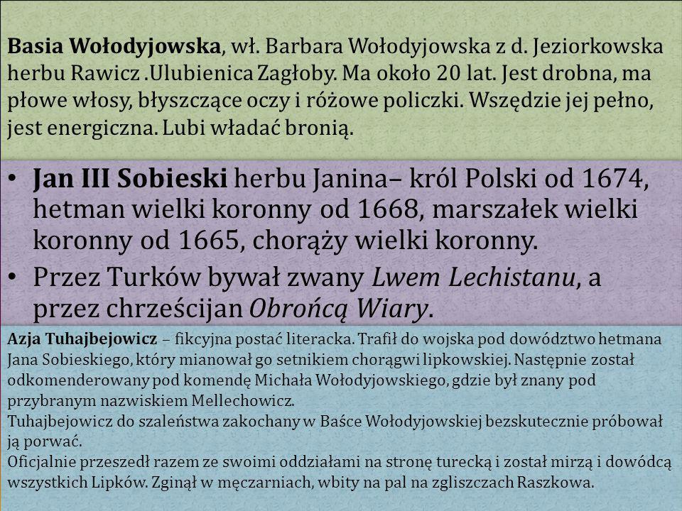 Basia Wołodyjowska, wł. Barbara Wołodyjowska z d