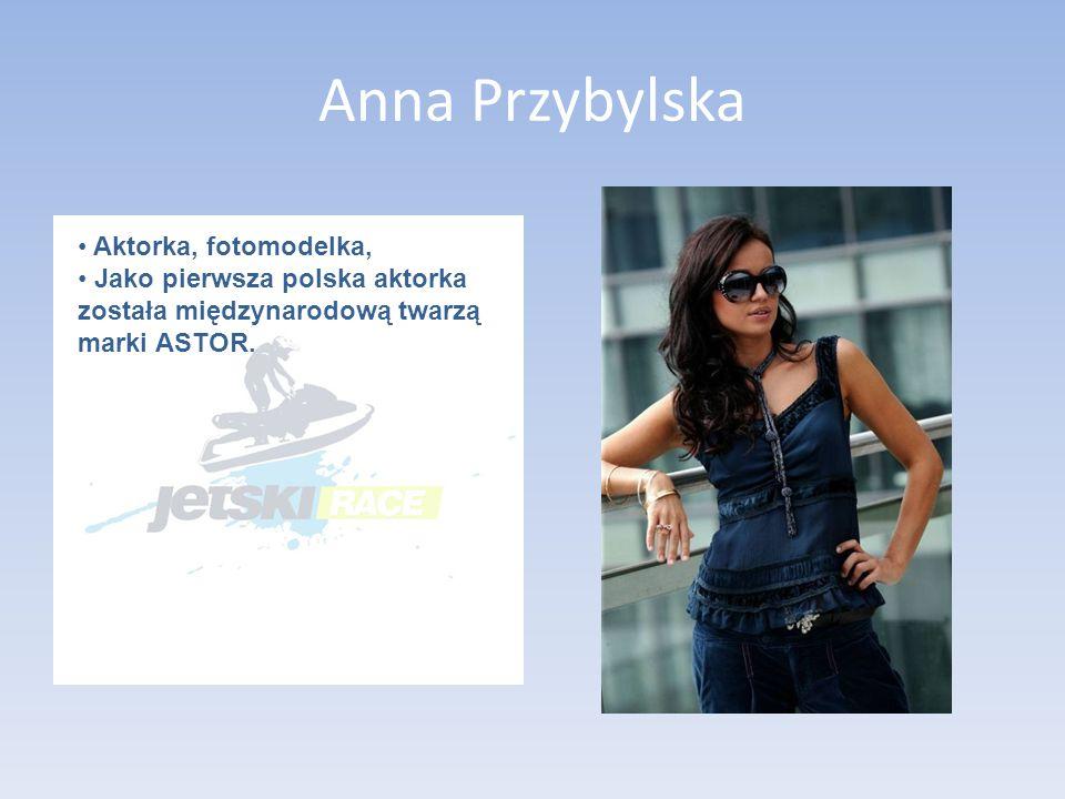 Anna Przybylska Aktorka, fotomodelka,