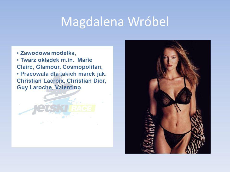 Magdalena Wróbel Zawodowa modelka,