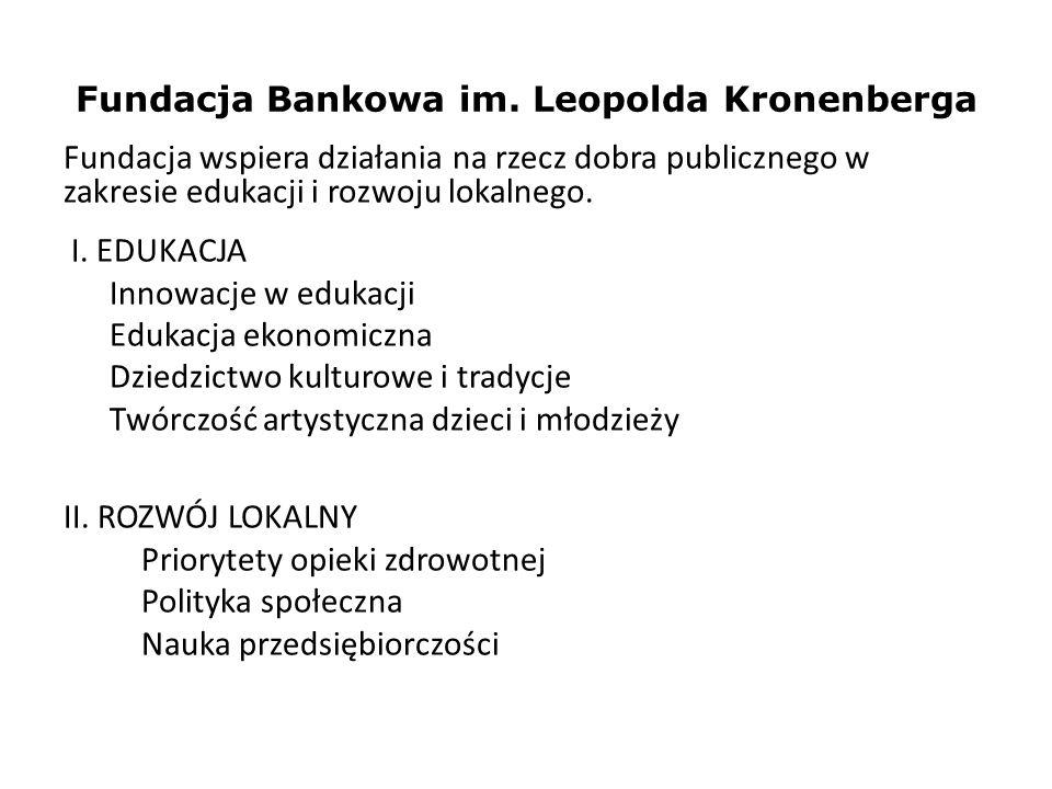 Fundacja Bankowa im. Leopolda Kronenberga