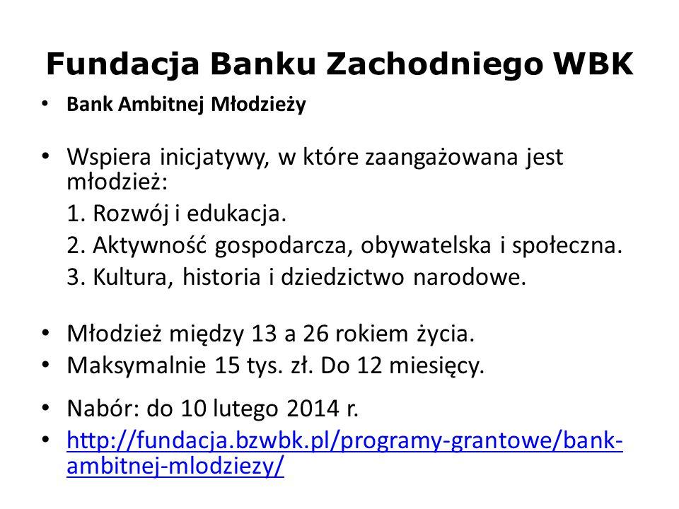 Fundacja Banku Zachodniego WBK