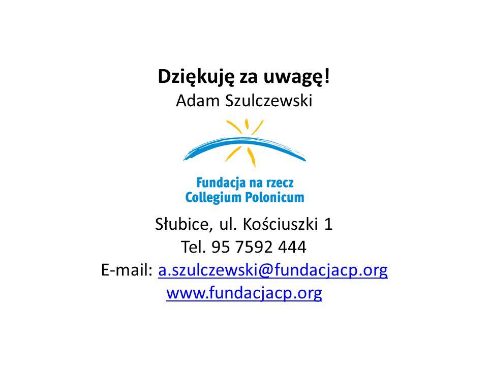 E-mail: a.szulczewski@fundacjacp.org