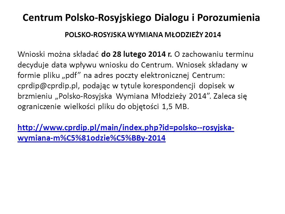 Centrum Polsko-Rosyjskiego Dialogu i Porozumienia