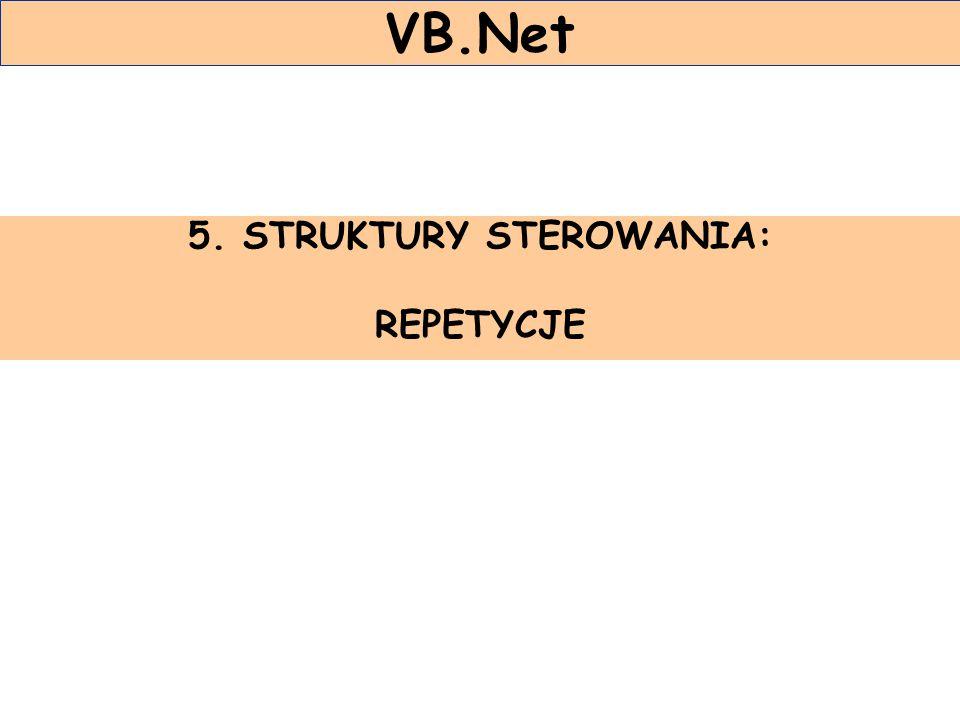 5. STRUKTURY STEROWANIA: