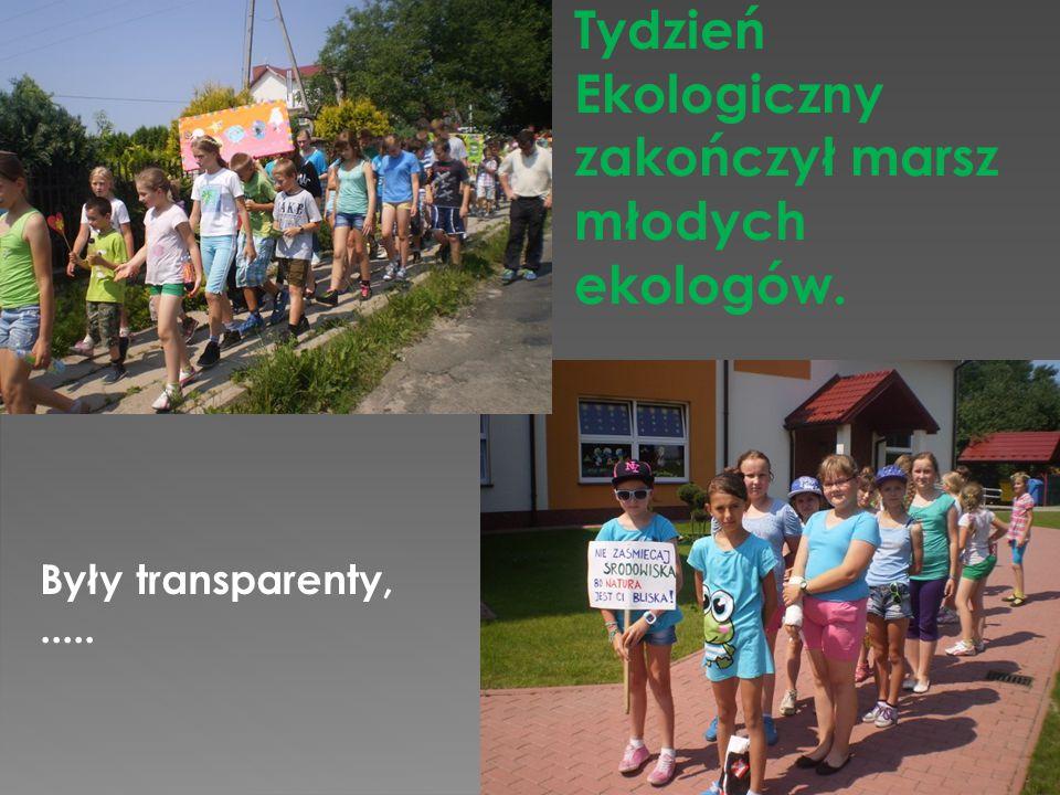 Tydzień Ekologiczny zakończył marsz młodych ekologów.