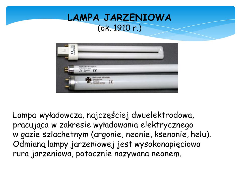 LAMPA JARZENIOWA (ok. 1910 r.)