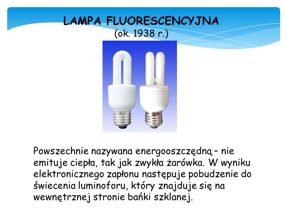 LAMPA FLUORESCENCYJNA