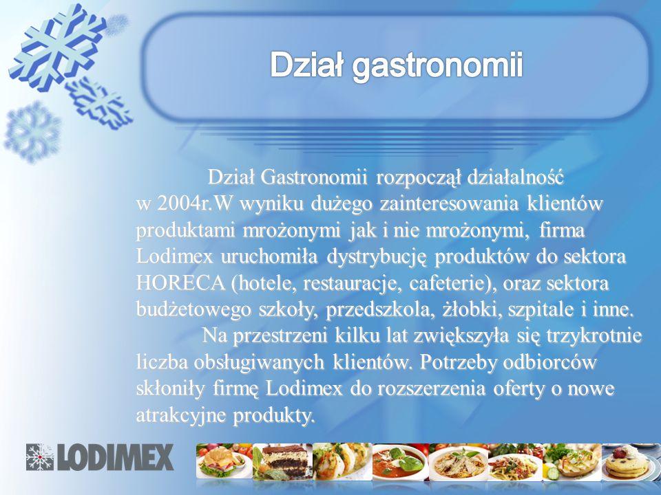 Dział gastronomii