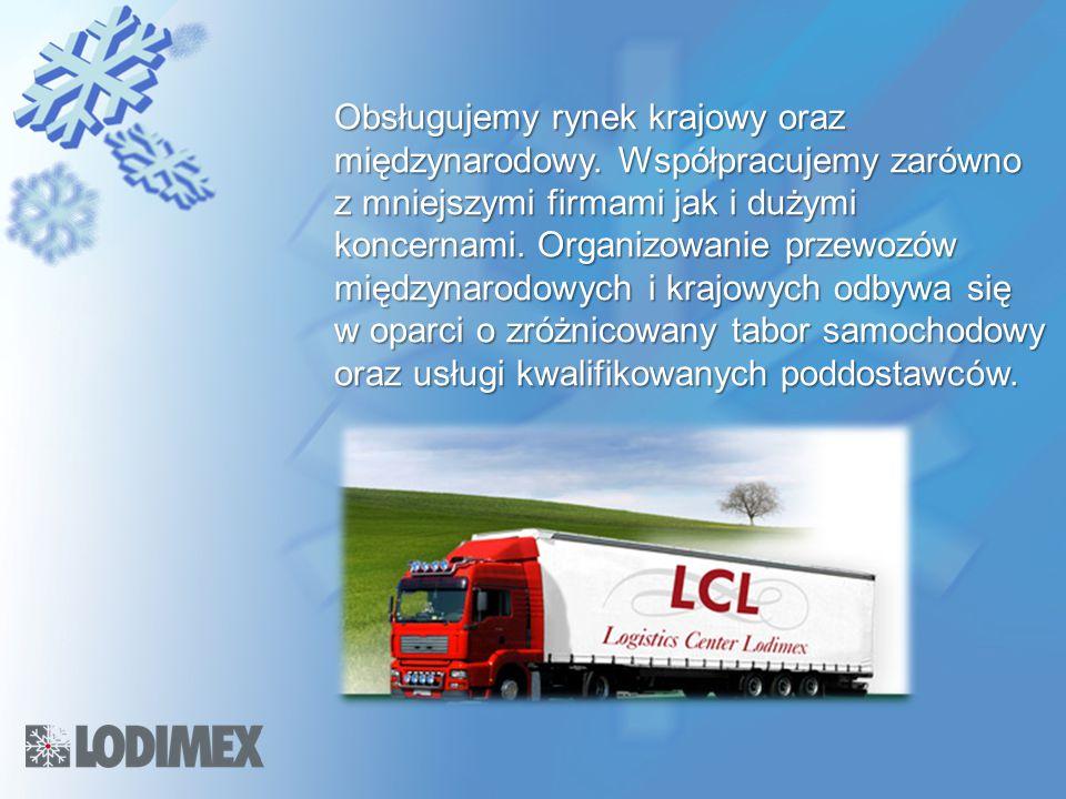 Obsługujemy rynek krajowy oraz międzynarodowy