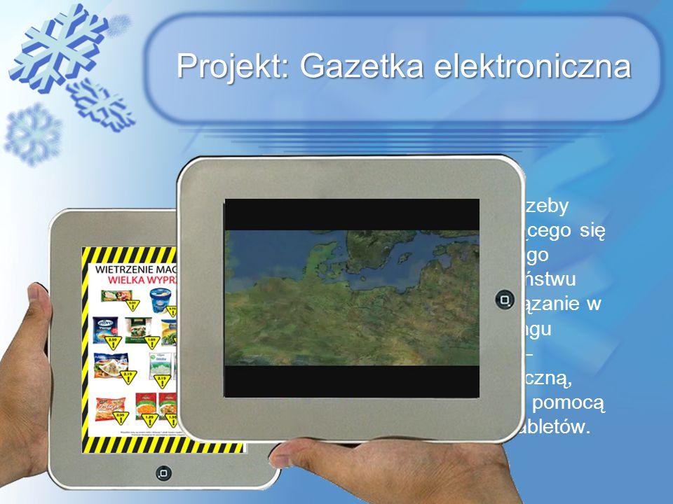 Projekt: Gazetka elektroniczna