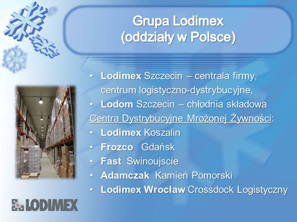 Grupa Lodimex (oddziały w Polsce)